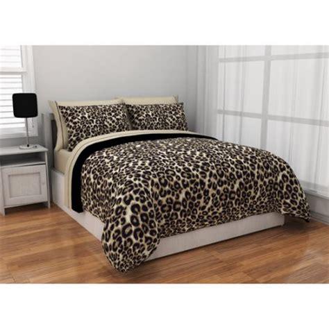 cheetah bedroom formula brushstroke cheetah reversible bed in a bag