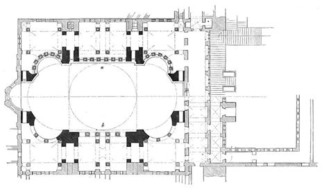 floor plan of hagia hist archi section a hagia st