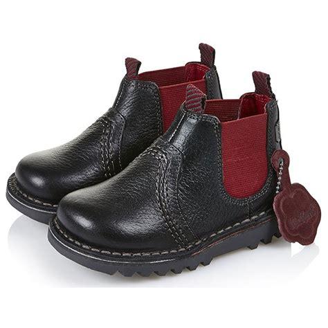 new model kickers boot kickers kick chelsea boot infant black 13532 the