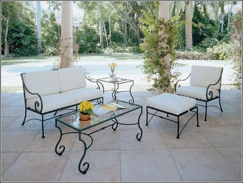 wrought iron patio furniture cushions patios home decorating ideas jy2p1wla9d