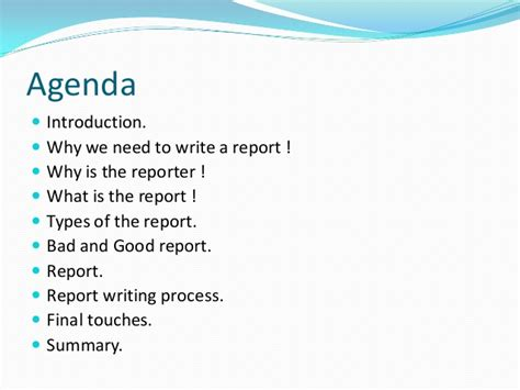 How To Write A Background Report by How To Write A Formal Report