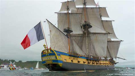 hermione bateau video photos video revivez le retour de l hermione 224 rochefort