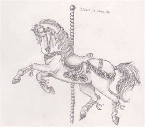 carousel horse tattoo designs carousel by merenwen melwasul on deviantart