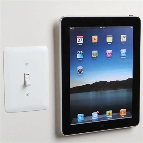 Tablet Wall Mount Diy padtab tablet wall mount the awesomer