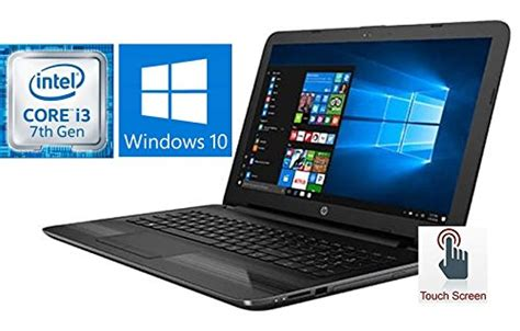 hp notebook 15 6 touchscreen premium laptop pc 2017 newest version 7th intel i3