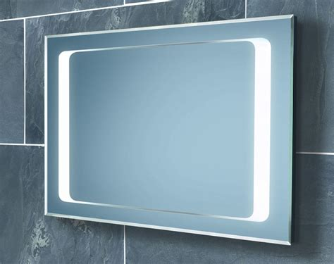 lighted bathroom mirror backlit bathroom mirrors