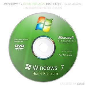 windows 7 home premium 32 bit windows 7 home premium disc by yaxxe on deviantart
