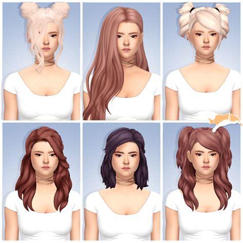 cc for the sims 4 lana cc finds catplnt semi mini cc dump hair recolors