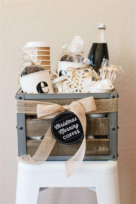 gift for coffee how to make a coffee gift basket the tomkat studio