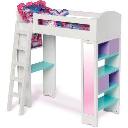 my life doll bed my life as loft bed walmart com