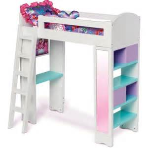 my life doll bed my life as loft bed walmart com