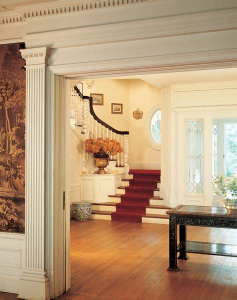 colonial revival interior design colonial woodwork and