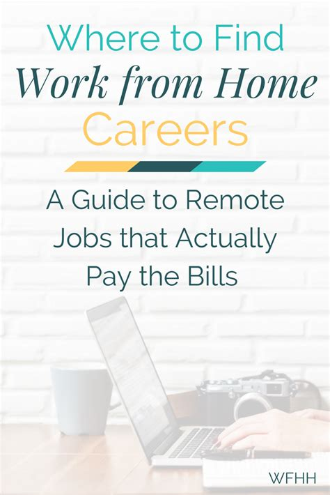 Find Jobs Online To Work From Home - where to find remote jobs that actually pay your bills