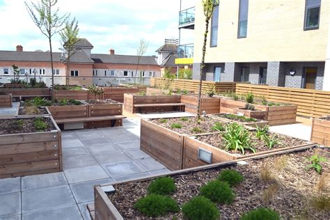 Roof Garden Planters by Grenadier Roof Garden Planters Design