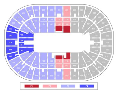 bank arena seating chart u s bank arena professional bull riders bluedef tour
