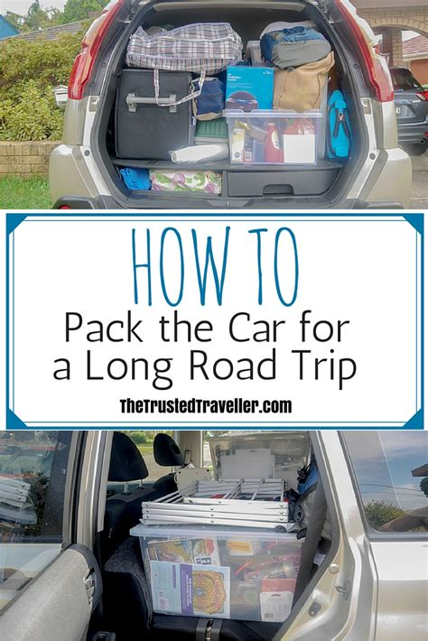 how to make a long road trip more comfortable how to pack your car for a long road trip the trusted