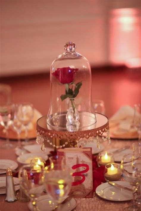 rose themed quince be our guest to a beautiful beauty and the beast themed