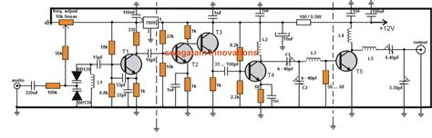 2 transistor fm transmitter circuit zone electronic projects electronic schematics diy electronics