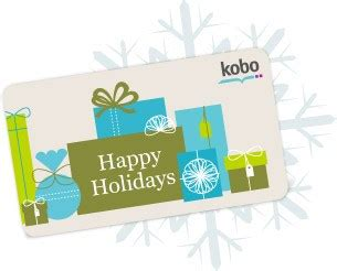Kobo Gift Card - smugglivus 2012 holiday giveaway kobo touch ereader the book smugglersthe book