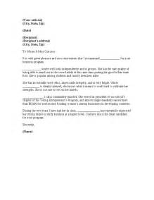 Business Letter Recommendation Letter Of Recommendation For Business Best Template