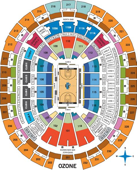 orlando magic seating amway center seating chart the official site of the