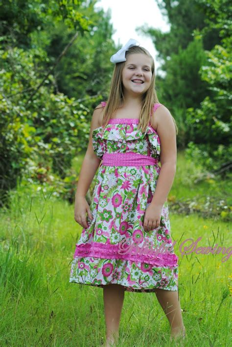 simple pattern for little girl dress sewing patterns for girls dresses and skirts sewing