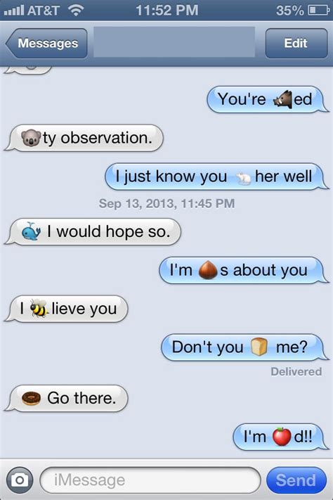 emoji text clever these two funny emoji texts popsugar tech photo 4
