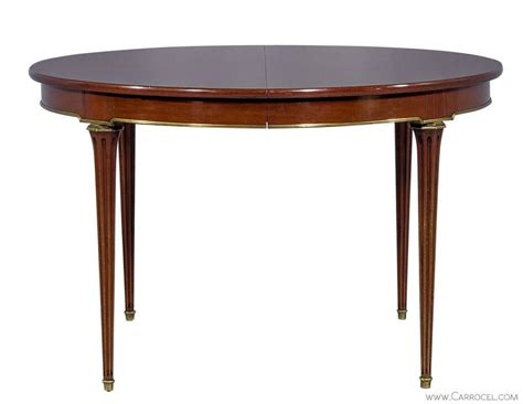 oval mahogany louis xvi dining table at 1stdibs