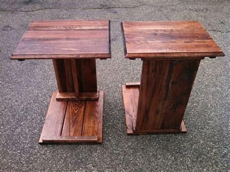 tv trays    skid pallet wood   wife