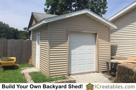 Sheds With Garage Door by Pictures Of Sheds With Garage Doors Garage Door Shed Photos