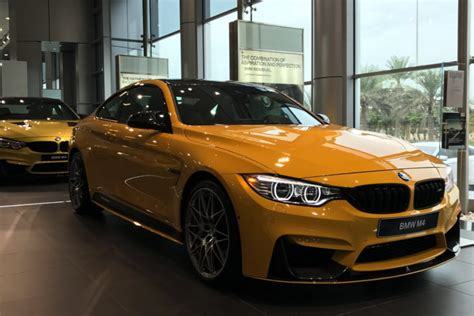 bmw m4 yellow green new cars gallery