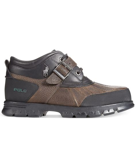grey polo boots polo ralph dover duck boots in gray for grey