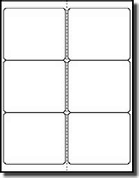 1 x 3 label template 600 white laser only glossy labels 4 x 3 1 3 6 per sheet