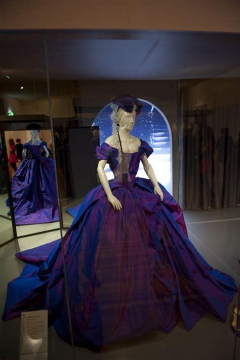Or Fabulous Dita Teeses Purple Vivienne Westwood Wedding Dress by Purple Wedding Dress Designed By Westwood For