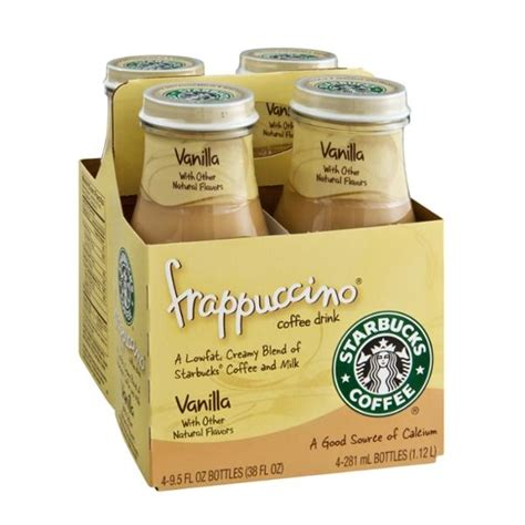 Vanilla Coffee Frappuccino starbucks frappuccino vanilla chilled coffee drink 4pk hy vee aisles grocery shopping