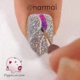 nail art tutorial gif nail tutorial gifs find share on giphy