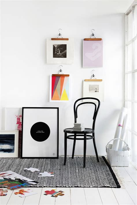 hang canvas without frame 5 alternatives for hanging art without frames the everygirl
