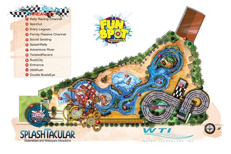amusement park floor plan the fun spot usa waterpark site plan tapmag com tapmag com
