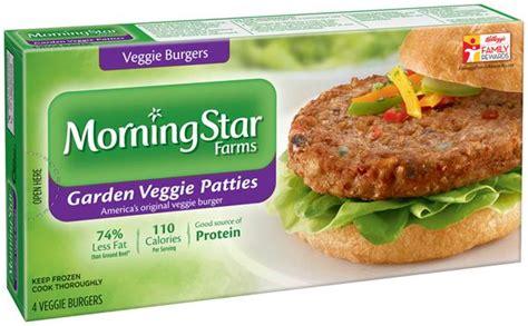 veggie burger nutrition facts morningstar