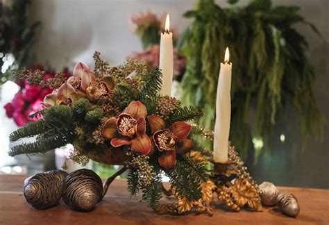 fresh christmas centerpieces 35 centerpieces for table ultimate home ideas