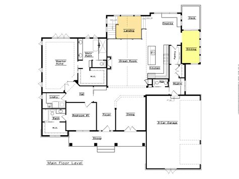 Open Floor Plan Designs Unique House Plans Open Floor Plan Studio Design