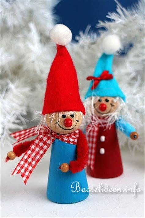 Weihnachtswichtel Filzen Anleitung by Weihnachtsbasteln Niedliche Weihnachtswichtel