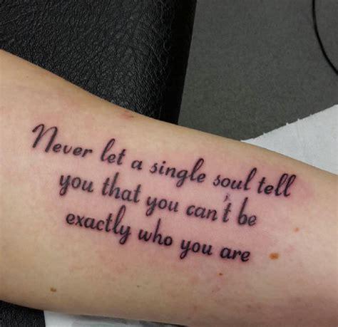 stunning quotes tattoo   inspire