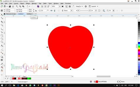tutorial membuat vektor dengan corel draw tutorial coreldraw untuk pemula cara membuat buah apel