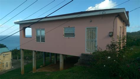 Single Car Garage Size House For Sale In Castries St Lucia 2 Beds 2 Baths