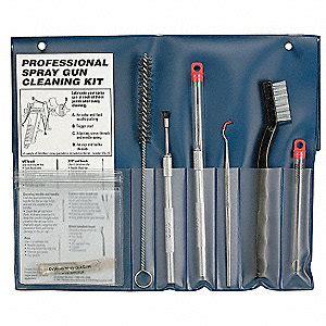 devilbiss spray gun cleaning kit ure grainger