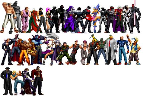 Kaos Gouki the king of fighters anthology m u g e n edition characters