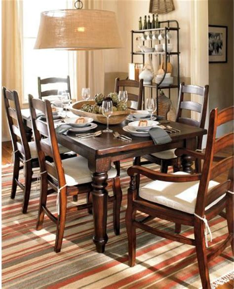 barn dining room table knockout knockoffs pottery barn sumner dining table