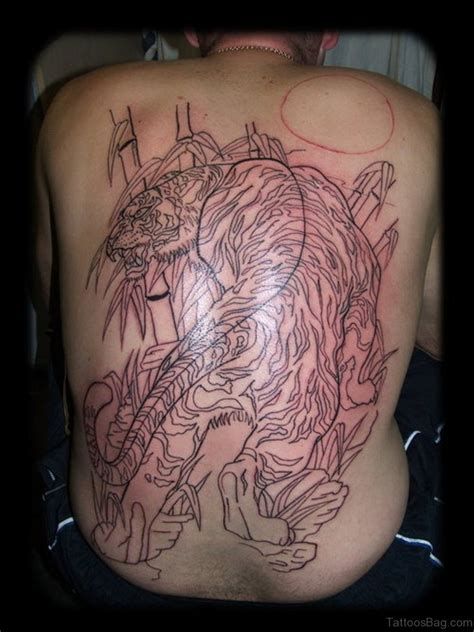 tiger tattoo outline designs 60 tiger tattoos for back