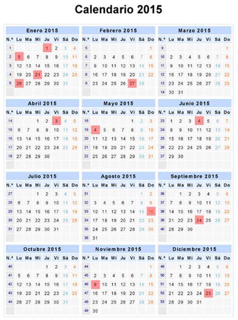 Calendario Dominicano Calendario 2015 Fechas Especiales Feriados 2015 2016